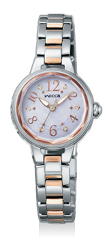 【シチズン】 CITIZEN wicca ウィッカ 腕時計 レディース KH8-519-93 ソーラーテック