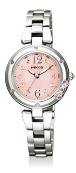 【シチズン】 CITIZEN wicca ウィッカ 腕時計 レディース KL4-915-91 ソーラーテック