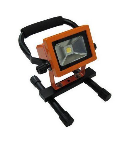 【プロモート】 PM 10W LED 作業用投光器 LED-10W  バッテリー付 作業灯 ワークライト