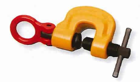 【スーパーツール】 スクリューカムクランプ 吊クランプ引張り治具兼用型(スイベルタイプ) SUC0.5