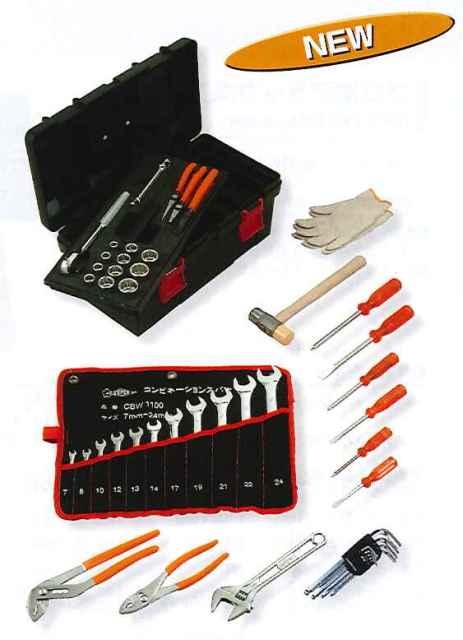 【スーパーツール】 プロ用標準工具セット S6500N