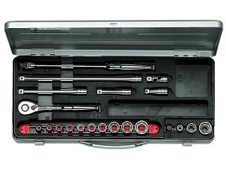 【KTC】 9.5SQ ソケットレンチセット ミリ TB314