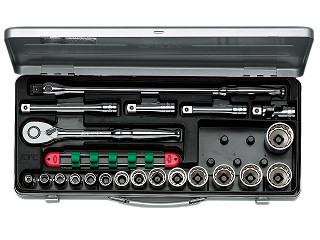 【KTC】 12.7SQ ソケットレンチセット ミリ TB415X