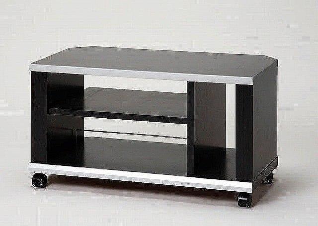 【アイリスオーヤマ】 薄型コーナーTVラック ブラック ≪DNT-750≫