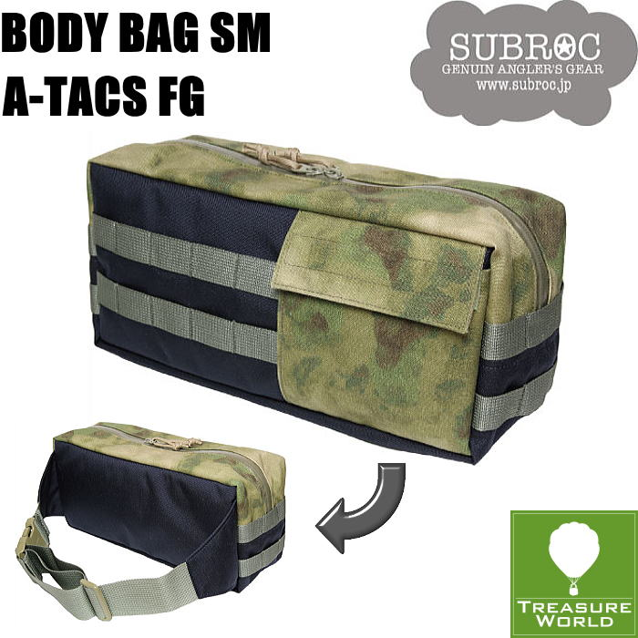 "SUBROC(サブロック)BODY BAG SM""STYLE MASTER""A-TACS FG"