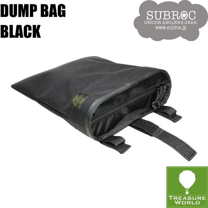 SUBROC(サブロック)ダンプバッグブラック