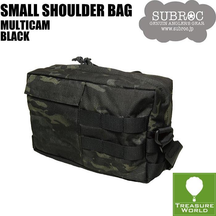 SUBROC(サブロック)スモールショルダーバッグマルチカム ブラック