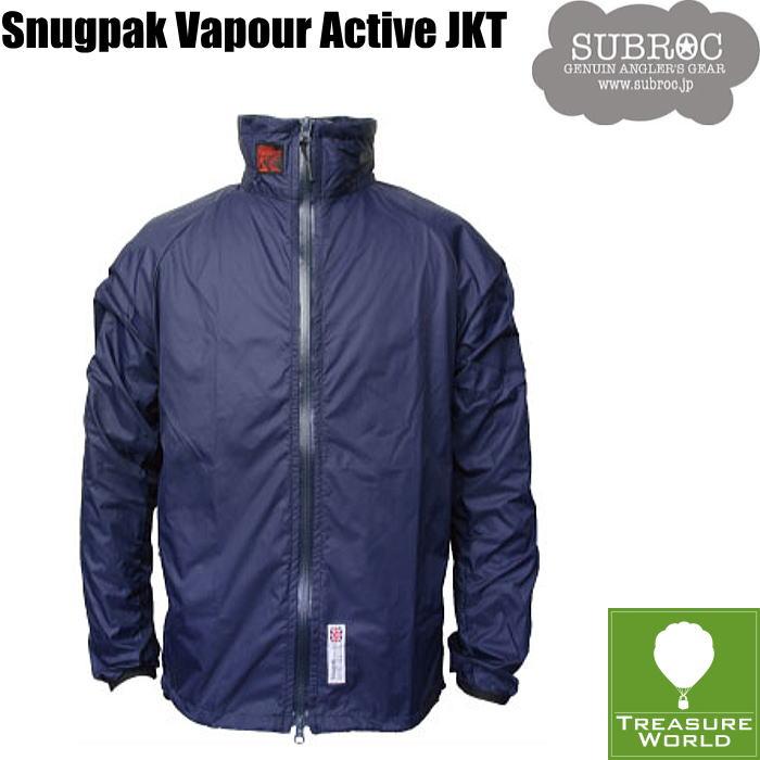 SUBROC(サブロック)スナグパックコラボベイパー アクティブジャケットネイビー(Mサイズ)