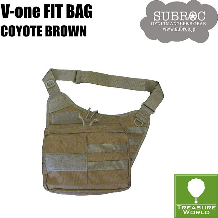 ●2019 NEW●SUBROC(サブロック)V-ONE FIT BAGCOYOTE BROWN