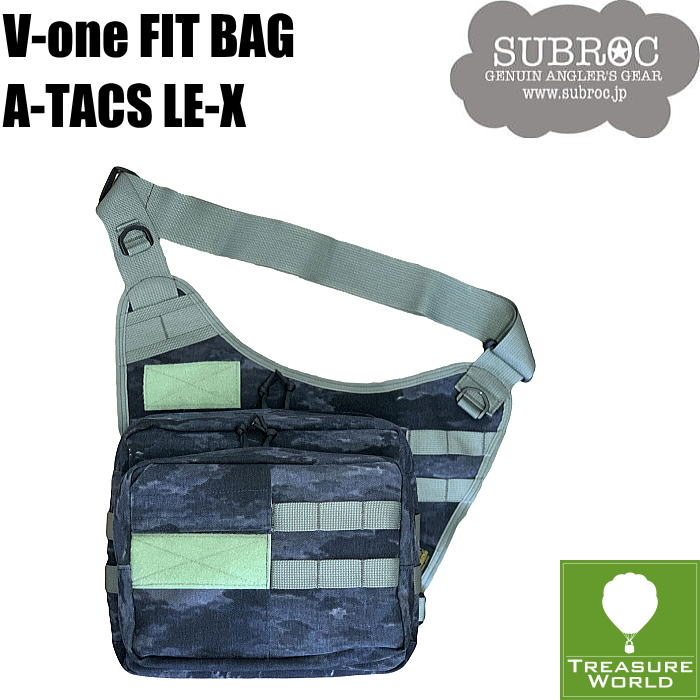 SUBROC(サブロック)V-ONE FIT BAGA-TACS LE-X