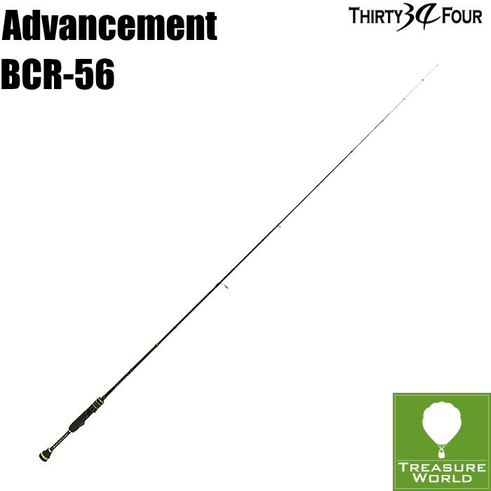★予約商品★34 THIRTY FOUR(サーティフォー)Advancement(アドバンスメント)BCR-56【アジングロッド】