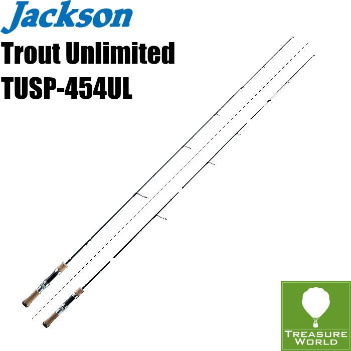 ●予約商品●Jackson (ジャクソン)Trout Unlimited(トラウト アンリミテッド)TUSP-454UL(4ピースパックモデル)【トラウトロッド】【渓流ロッド】【スピニングモデル】〔分類:ルアーフィッシング〕