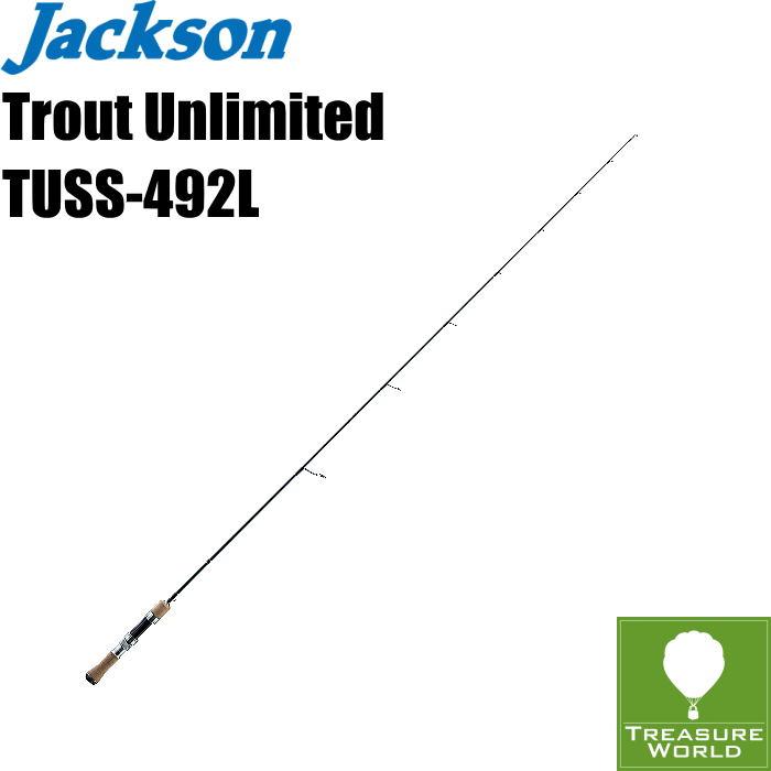 ●予約商品●Jackson (ジャクソン)Trout Unlimited(トラウト アンリミテッド)TUSS-492L【トラウトロッド】【渓流ロッド】【スピニングモデル】〔分類:ルアーフィッシング〕