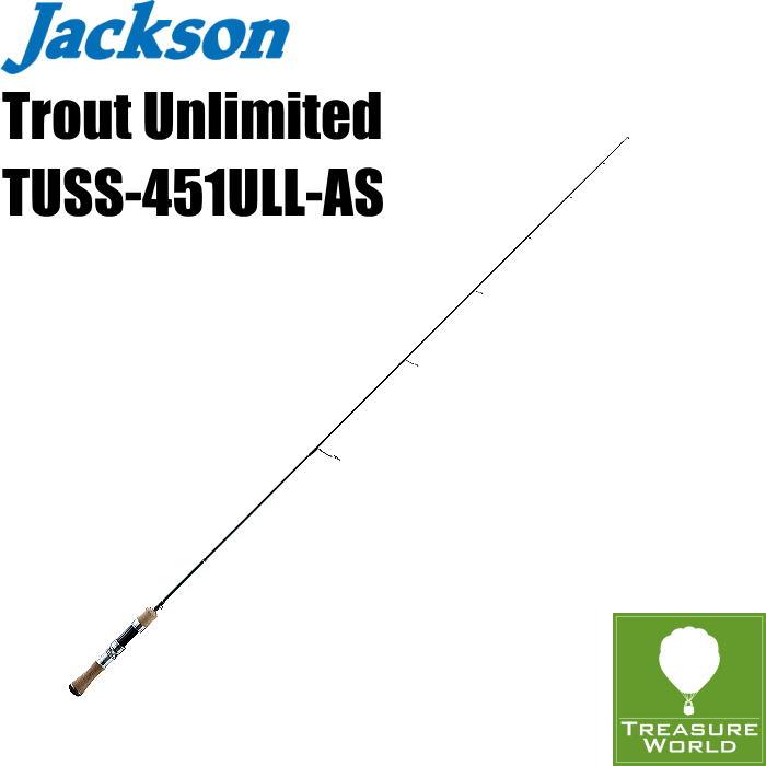 ●予約商品●Jackson (ジャクソン)Trout Unlimited(トラウト アンリミテッド)TUSS-451ULL-AS(オールソリッド 1Pcs モデル)【トラウトロッド】【渓流ロッド】【スピニングモデル】〔分類:ルアーフィッシング〕