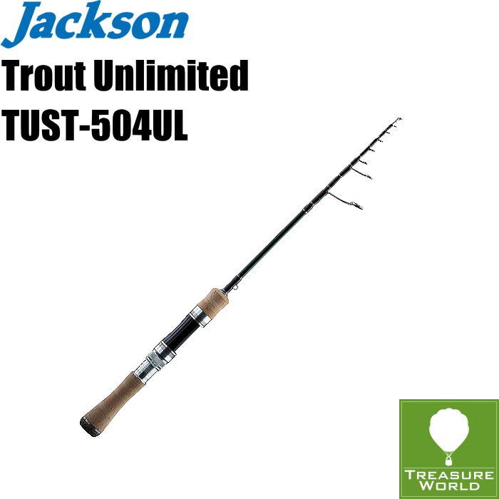 ●予約商品●Jackson (ジャクソン)Trout Unlimited(トラウト アンリミテッド)TUST-504UL(4ピーステレスコモデル)【トラウトロッド】【渓流ロッド】【スピニングモデル】〔分類:ルアーフィッシング〕