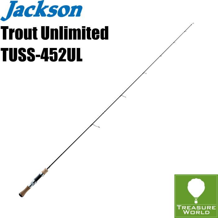 ●予約商品●Jackson (ジャクソン)Trout Unlimited(トラウト アンリミテッド)TUSS-452UL【トラウトロッド】【渓流ロッド】【スピニングモデル】〔分類:ルアーフィッシング〕