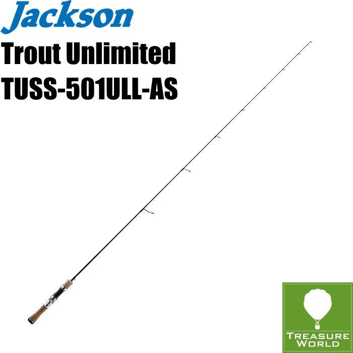 ●予約商品●Jackson (ジャクソン)Trout Unlimited(トラウト アンリミテッド)TUSS-501ULL-AS(オールソリッド 1Pcs モデル)【トラウトロッド】【渓流ロッド】【スピニングモデル】〔分類:ルアーフィッシング〕