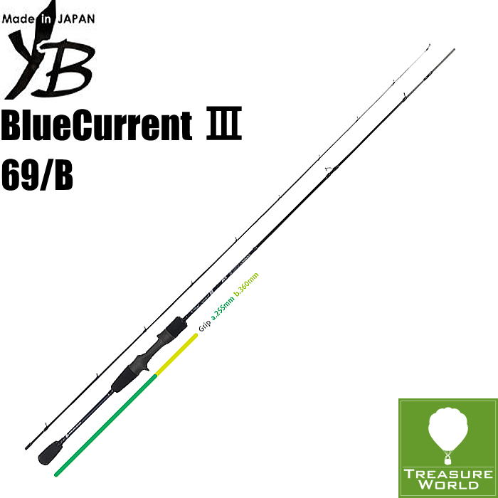 ★予約商品★●2020 Model●YAMAGA Blanks (ヤマガブランクス)BlueCurrent III(ブルーカレント 3)69/B【ライトゲーム】【アジング】【メバリング】