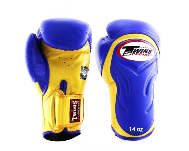 TWINS SPECIAL ボクシンググローブ 8oz 10oz 12oz 14oz 16oz 青 黄/ボクシング/ムエタイ/グローブ/キック/フィットネス/本革製/ツインズ