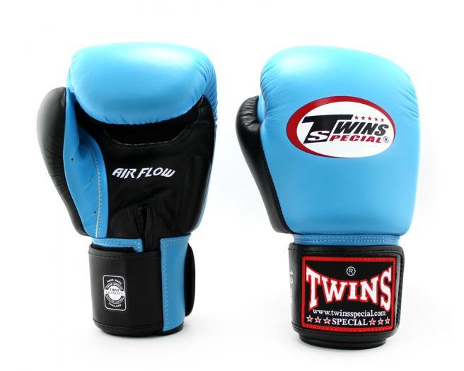 TWINS SPECIAL ボクシンググローブ 8oz 10oz 12oz 14oz 16oz 水色 青 白/ボクシング/ムエタイ/グローブ/キック/フィットネス/本革製/ツインズ