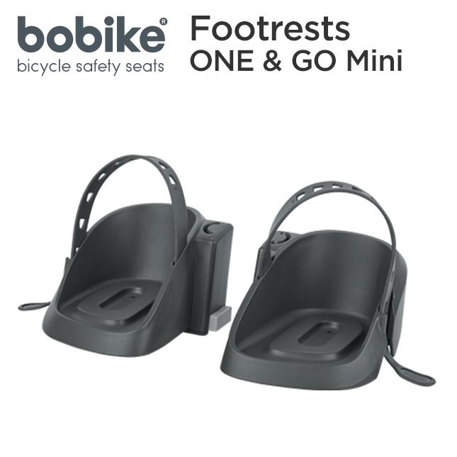 ONE GO Mini用の補修パーツです bobike 希少 Footrests mini ボバイク フットレスト ワン チャイルドシート ゴー 自転車 ミニ アンド 前乗せ用補修パーツ 子供用 スポーツ 推奨