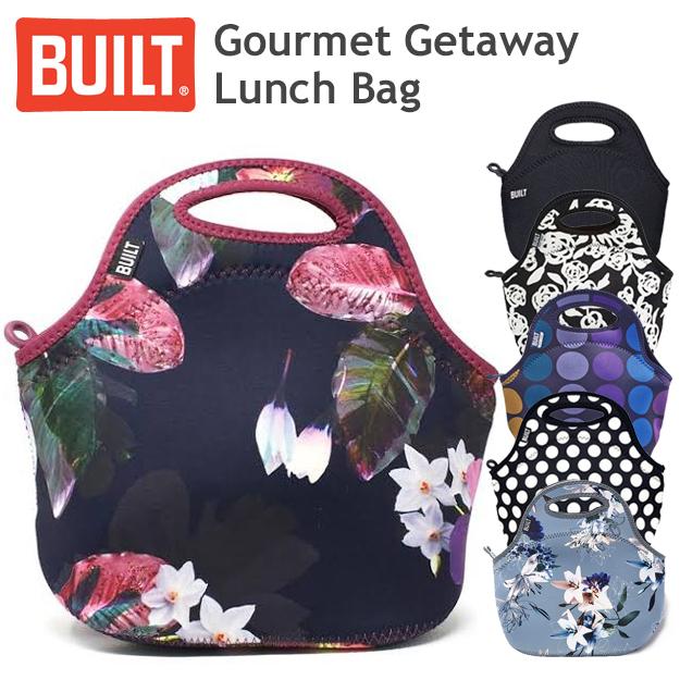 おしゃれママに最適 お散歩やお買い物にベビーカーにかけてもGOOD BUILT ビルト Gourmet 公式 Getaway Lunch おしゃれ ゴウメットバック ランチバック お弁当袋 ニューヨーク 新作 人気 ママバック Tote