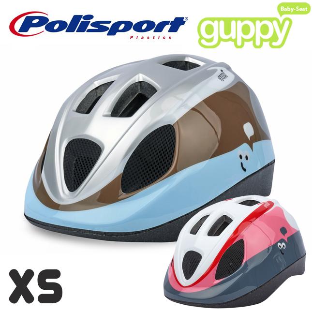 世界基準の安全性 SALE デザインもかわいい子供用ヘルメット BABY HELMET Guppy XXS よりワンサイズ大きめのヘルメット Polisport ポリスポート XS グッピー 子供用ヘルメット 自転車 定番スタイル