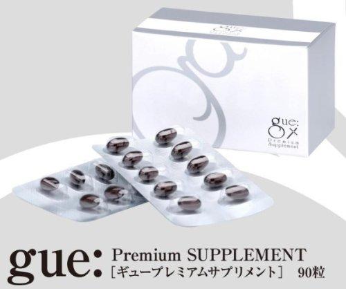ギュープレミアムサプリメント 注目ブランド gue 正規品スーパーSALE×店内全品キャンペーン Premium 90粒 Supplement