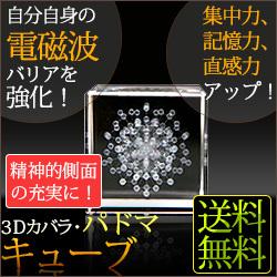 新登場 丸山修寛先生開発商品 お見舞い 3Dカバラ パドマキューブ
