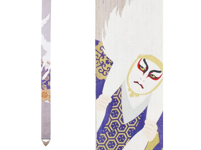 外国から見た日本をデザインしたユニークなシリーズです モダン 海外土産 細タペストリー KABUKI 手描き タぺストリー 低価格 年中コンビニ受取可 に最適 使い勝手の良い 画プレゼント海外土産 和風 年中 39送料無料タペストリー おしゃれ