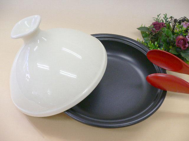 土鍋 蒸しなべ タジン鍋 クリーム SSR
