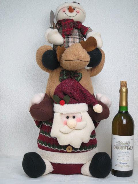 定番のクリスマスマスコット クリスマス アップダウンドール サンタ 新品未使用 トナカイ 与え スノーマン のびちぢみドール_P2プレゼント 置物 かわいい