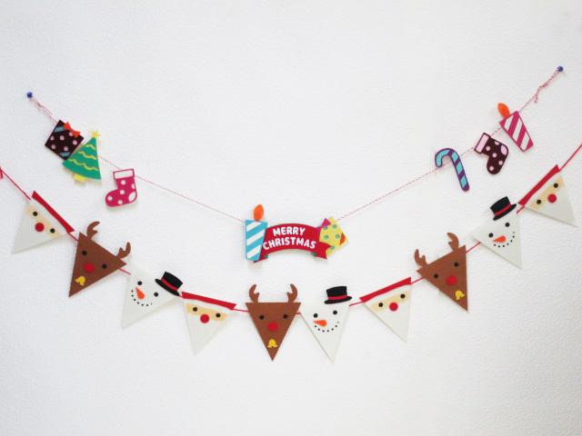 クリスマスデザインのガーランド2種セットです 驚きの値段 クリスマス 特別価格 クリスマスガーランドセット メール便可 ガーランド ネコポス 可 画プレゼント ガーランドセット 追跡可能メール便 メイルオーダー 送料無料