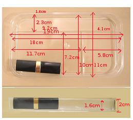 メイクボックス用トレー26cm用材質はPET エーペット です 透明性が高く 市場 耐油性 送料無料 メイクボックス用トレー26cm用 おトク 成型加工性 耐薬品性にすぐれています