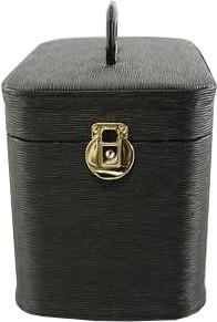 メイクボックス。 水シボ33cmブラック 化粧入れ。一個づつ手作りで日本製です。送料無料。激安セール!