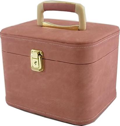メイクボックス コスメボックス オポジット26cmヨコ ピンク お化粧入れ 映画(8/31公開)サニーに出ていた商品の色違いです。化粧ケース,プレゼント,コスメケース,メイクケース,メイクグッズ