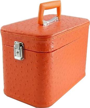 メイクボックス コスメボックス。 オーストリア30cmオレンジお化粧入れ TVドラマ使用。クリスマスプレゼントに喜ばれます。ギフト プチギフト プレゼント ラッピング バレンタインデー ホワイトデー バースデー 誕生日 スーパーSALE ハロウィン 敬老の日