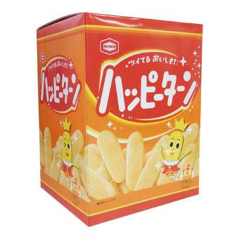低額食品 亀田製菓 今だけスーパーセール限定 ビッグBOX ハッピーターン 国内正規品