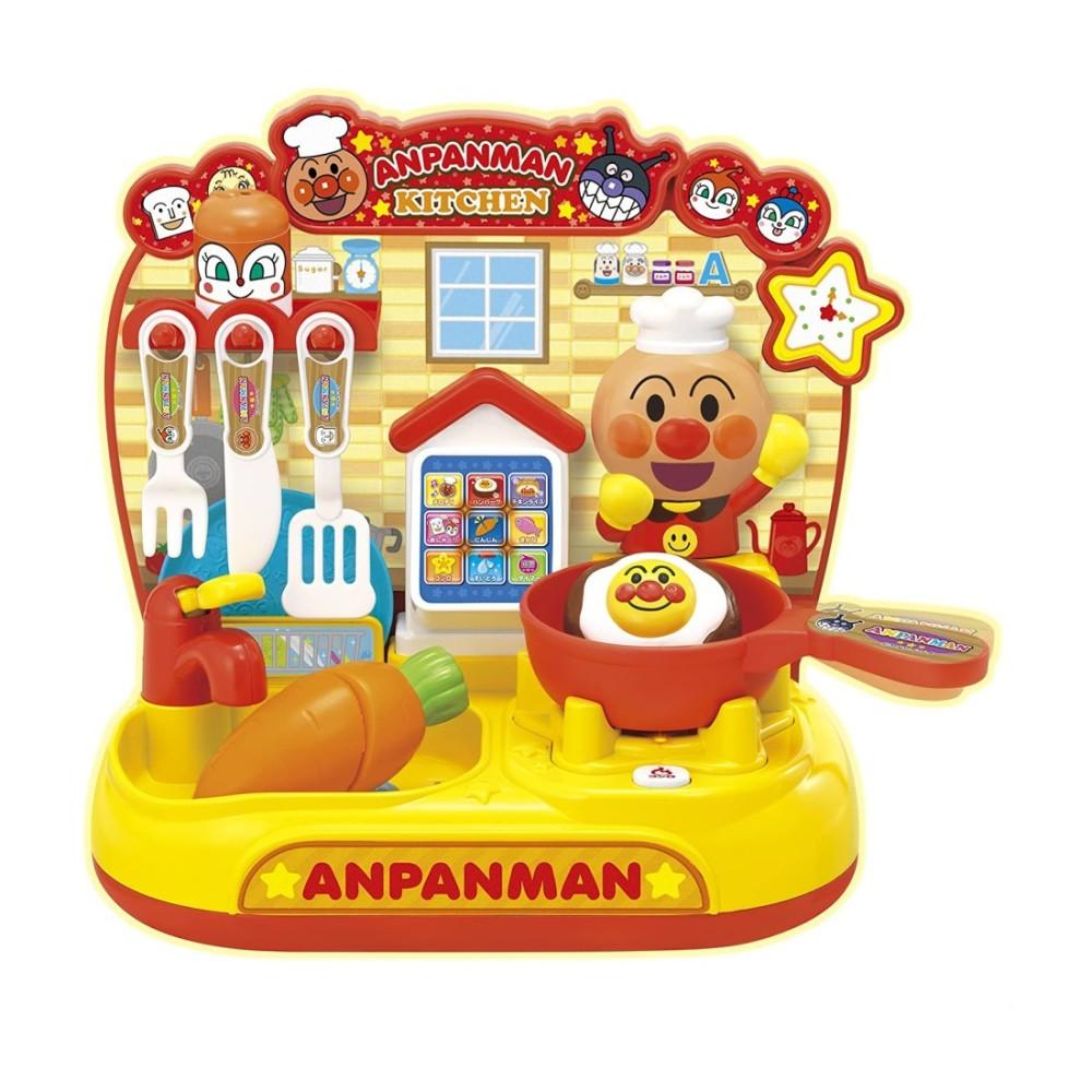 アンパンマン おもちゃ 玩具 クリスマス キッチン ままごと遊び 男の子 タッチでおしゃべり 開店祝い 結婚祝い プレゼント 女の子 JOYPALETTE ジョイパレット スマートアンパンマンキッチン