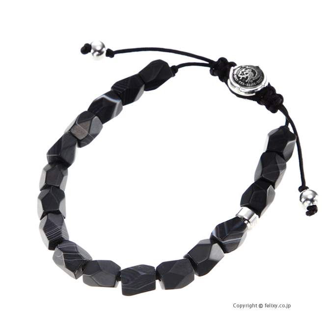 OUTLET SALE 送料無料 ラッピング無料 ディーゼル ブレスレット DX1134040 Agate DIESEL 流行 Bracelet
