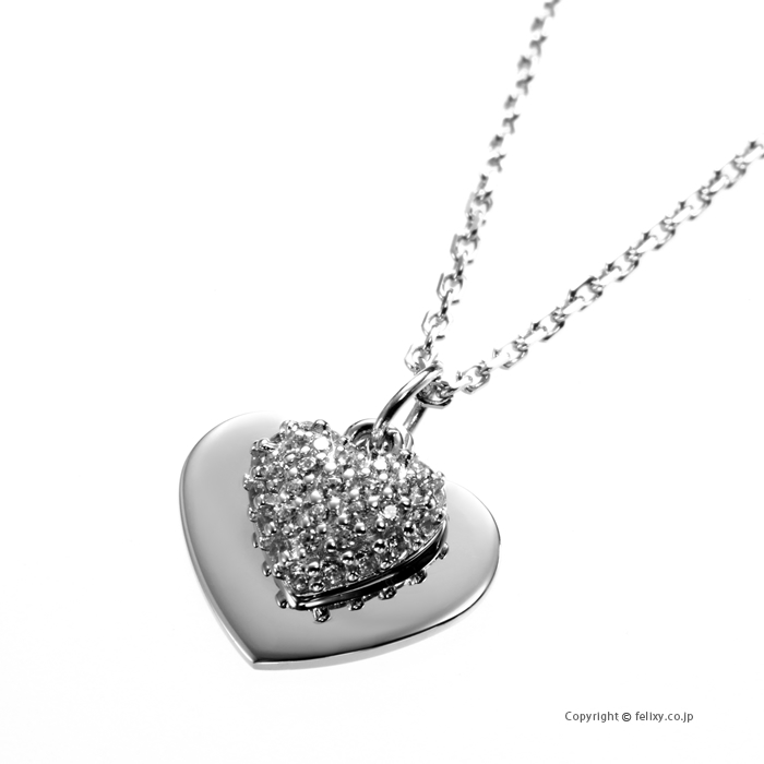 マイケルコース MICHAEL KORS ネックレス Pave Heart Pendant MKC1120AN040