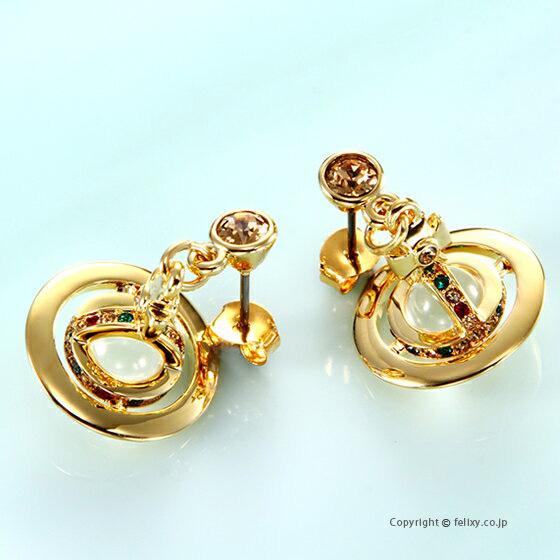 ヴィヴィアンウエストウッド Vivienne Westwood ピアス Petite Orb Earring 62020032-R001 724537B/2 【あす楽】