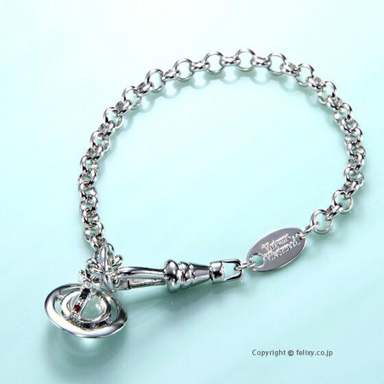 ヴィヴィアンウエストウッド Vivienne Westwood ブレスレット Petite Orb Bracelet 61020057-W004 741467B/1
