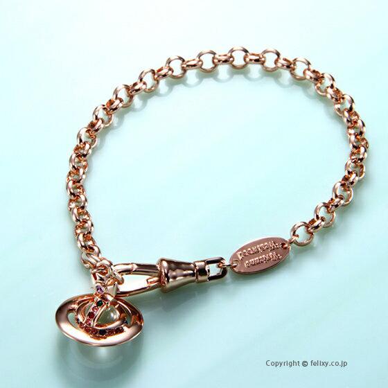ヴィヴィアンウエストウッド Vivienne Westwood ブレスレット Petite Orb Bracelet 61020057-G002 741467B/3 【あす楽】