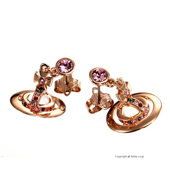 ヴィヴィアンウエストウッド ピアス Vivienne Westwood Petite Orb Earring 62020032-G002 724537B/3