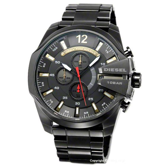 ディーゼル DIESEL 時計 メンズ メガチーフ ガンメタル(ゴールド) DZ4421
