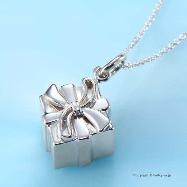 ティファニー ネックレス Tiffany & Co. ボックス チャーム ペンダント ネックレス 27241549【ティファニー ジュエリー】