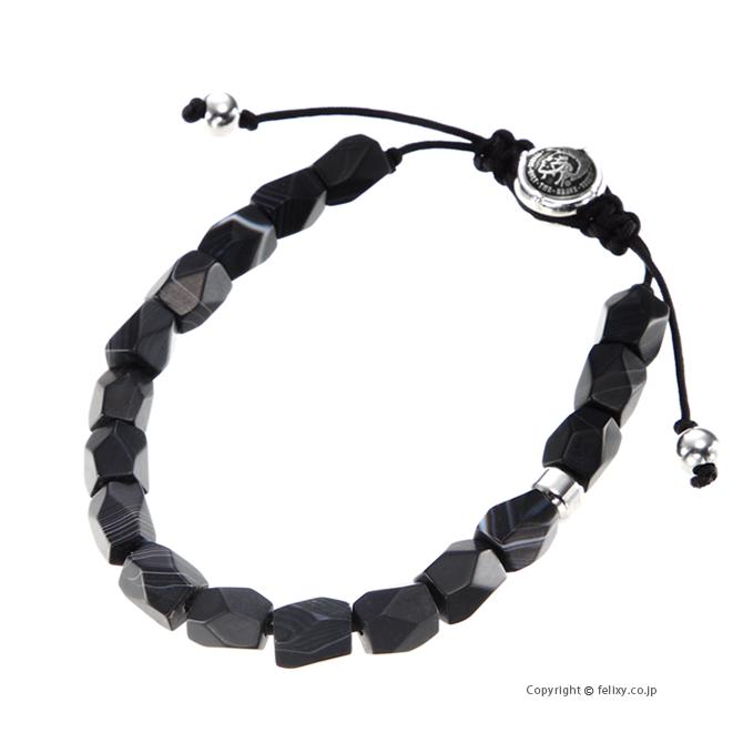 送料無料 ラッピング無料 ディーゼル ブレスレット Bracelet Agate DX1134040 出群 希望者のみラッピング無料 DIESEL