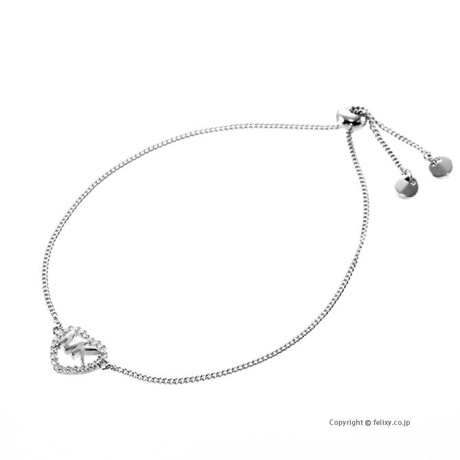 マイケルコース MICHAEL KORS ブレスレット Logo Heart Slider Bracelet MKC1242AN040 【あす楽】