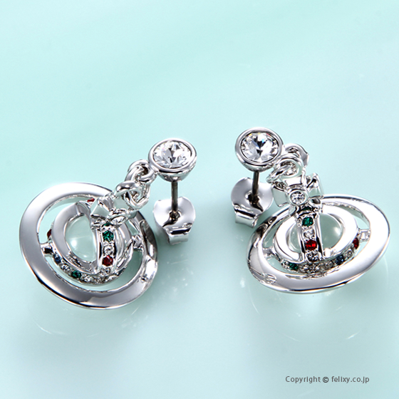 ヴィヴィアンウエストウッド Vivienne Westwood ピアス Petite Orb Earring 62020032-W004 724537B/1